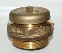 "Pressure safety valve R2"" with gasket"